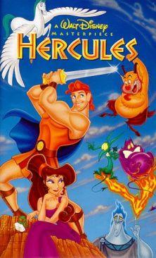 Hercules - VHS cover