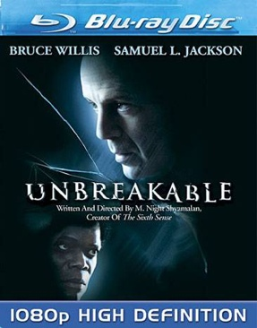 Unbreakable - Blu-ray cover