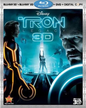 Tron: Legacy - Blu-ray cover