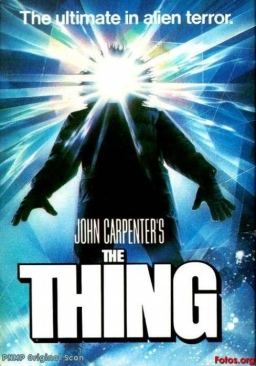The Thing - HD DVD cover