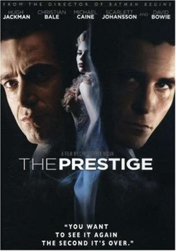 The Prestige - DVD cover