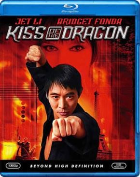 Kiss of the Dragon - Blu-ray cover
