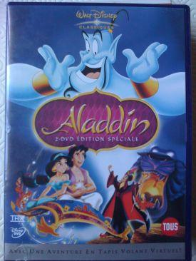 Disney Aladdin - DVD cover