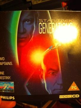 Star Trek: Generations - Video CD cover