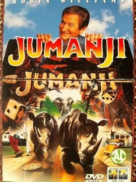 Jumanji - Video CD cover