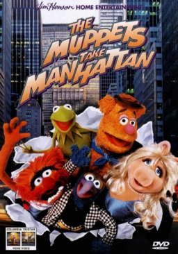 The Muppets Take Manhattan - DVD cover