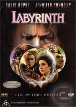 Labyrinth - DVD cover
