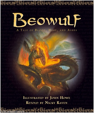 Beowulf - DVD cover