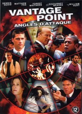 Vantage Point - DVD cover