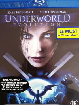 Underworld: Evolution - Blu-ray cover