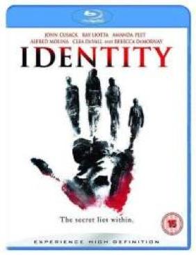 Identity - Blu-ray cover