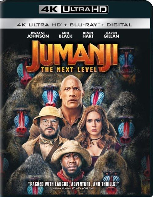 Jumanji - 3 The Next Level  -  cover