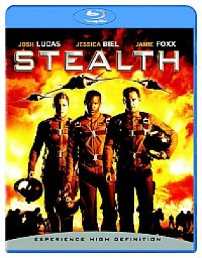 Stealth - Blu-ray cover