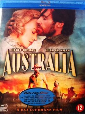 Australia - Blu-ray cover