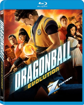Dragonball Evolution - Blu-ray cover