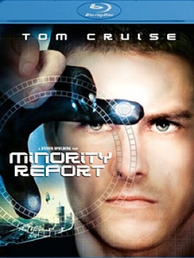 Minority Report - Blu-ray cover