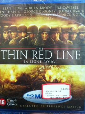 The Thin Red Line - Blu-ray cover