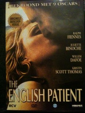 The English Patient - DVD cover