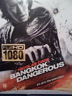 Bangkok Dangerous - Blu-ray cover