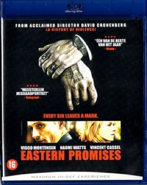 Eastern Promises - Blu-ray cover