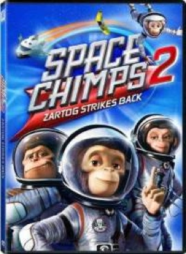 Space Chimps 2 - DVD cover