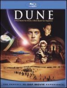 Dune - Blu-ray cover