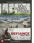 BOY IN STRIPED PYJAMAS DEFIANCE WAY BACK -  cover