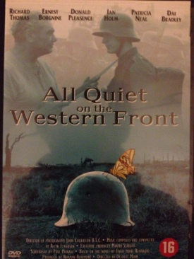 All Quiet On The Western Front - DVD cover