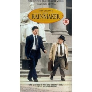 The Rainmaker - VHS cover