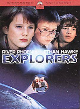 Explorers - DVD cover