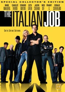 The Italian Job - DVD cover