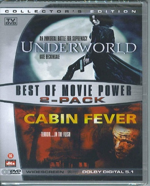 Underworld & Cabin Fever - DVD cover