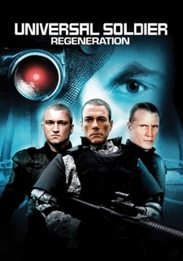 Universal Soldier: Regeneration - CED cover