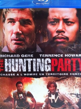 The Hunting Party - Blu-ray cover