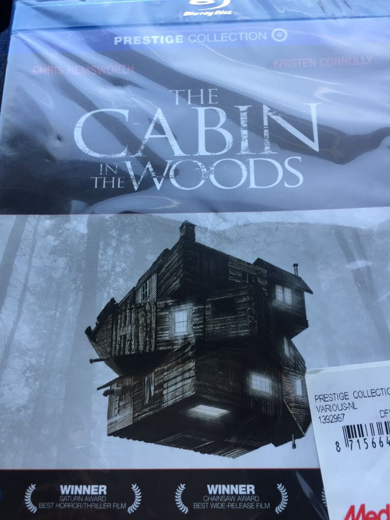 The Cabin In The Woods -  cover