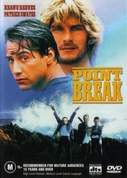 Point Break - DVD cover