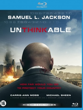 Unthinkable 2010 - Blu-ray cover