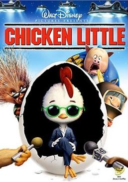 Chicken Little - DVD cover