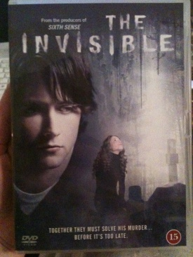 The Invisible - DVD-R cover