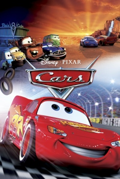 Cars - Blu-ray cover