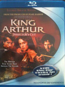 King Arthur - Blu-ray cover
