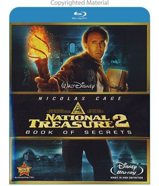 National Treasure 2: Book of Secrets - Blu-ray cover
