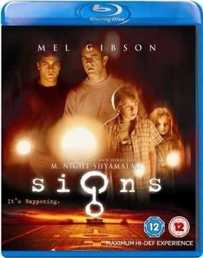 Signs - Blu-ray cover