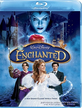 Enchanted - HD DVD cover