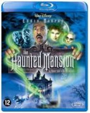 The Haunted Mansion - Blu-ray cover