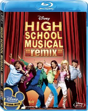 High School Musical - Blu-ray cover