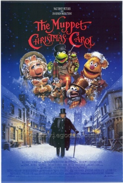 The Muppet Christmas Carol - Blu-ray cover