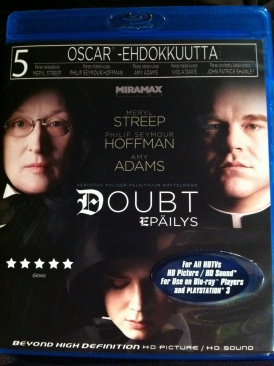 Doubt - Blu-ray cover