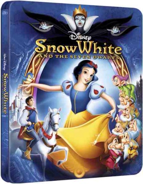 Snow White and the Seven Dwarfs - Blu-ray cover
