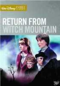 Return From Witch Mountain - DVD cover